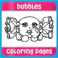Bubbles Coloring Pages