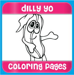 Dilly Yo Coloring Pages