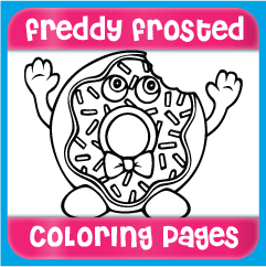 Freddy Frosted Coloring Pages