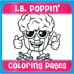 I.B. Poppin' Coloring Pages