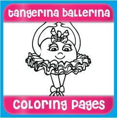 Tangerina Ballerina Coloring Pages