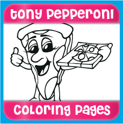 Tony Pepperoni Coloring Pages