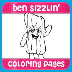 Ben Sizzlin' Coloring Pages