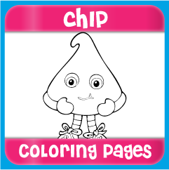 Chip Coloring Pages