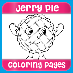 Jerry Pie Coloring Pages