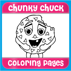 Chunky Chuck Coloring Pages