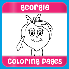 Georgia Coloring Pages