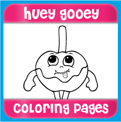 Huey Gooey Coloring Pages