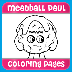 Meatball Paul Coloring Pages