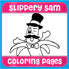 Slippery Sam Coloring Pages