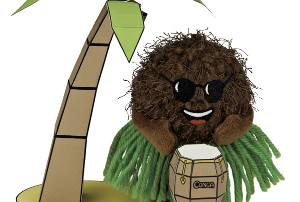 Coco Sniffer w Coco tree Bongo3 copy
